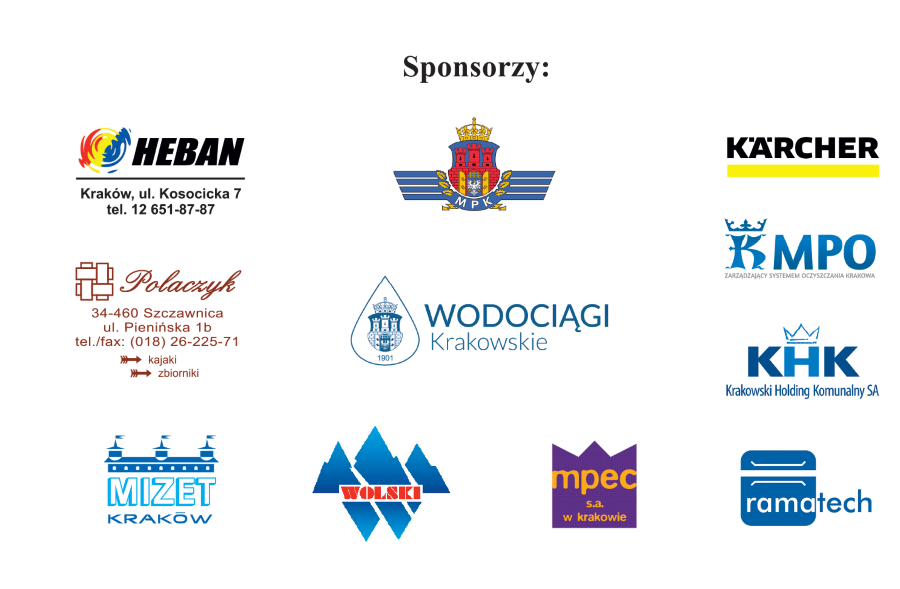 Sponsorzy tegorocznych spływów